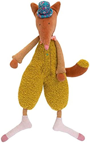 Moulin Roty Les Tartempois Dede the Fox Plush 18.5  Toy