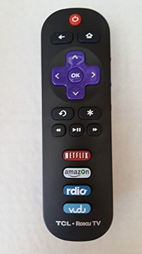 TCL Remote RC280 ROKU 55FS4610R 32S4610R 28S3750 32S3750 40FS3750 55FS3750 Netflix Amazon Rdio Vudu Buttons 20341