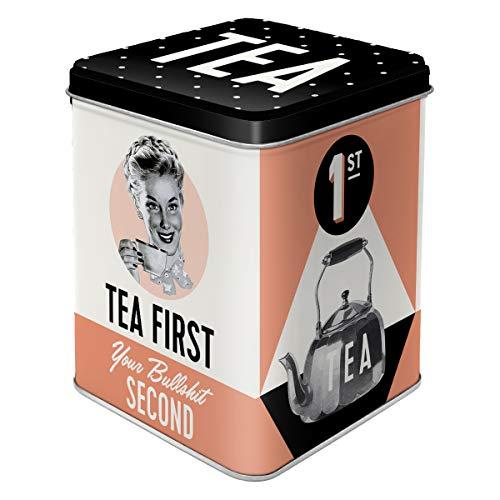 Nostalgic-Art 31308 - Say it 50's - Tea First, Teedose, 100g