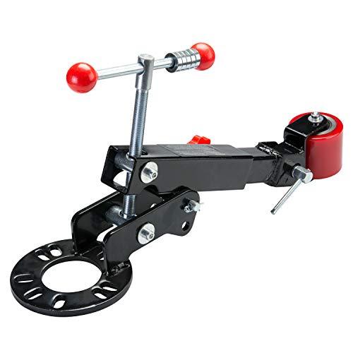 Tooluxe 20767L Steel Fender Rolling Tool | Locks on Wheel Mount Lugs | Wheel Arch Flaring, Forming, Extending