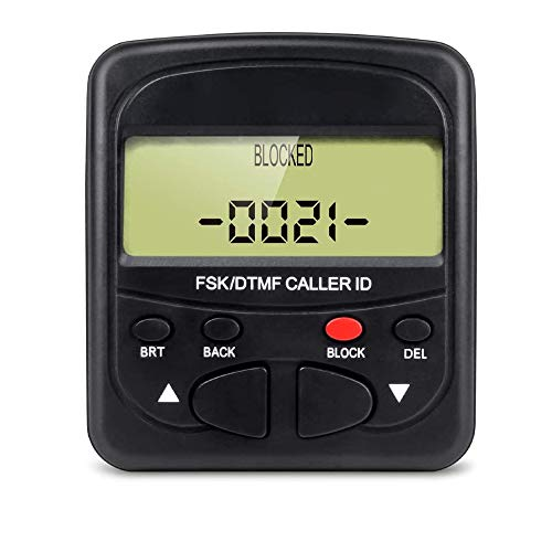 TelPal Call Blocker Display for Landline Phone with 1500 Number Capacity Block Robocalls , Telemarketing Calls, Junk Faxes and All Spam Calls
