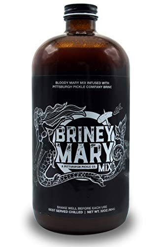Pittsburgh Pickle Company Briney Mary - Bloody Mary Mix - Single Bottle