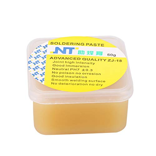 Generic Ötlicher Kolophonium Lötflusspaste effizientes Schweißfett erleichtert Löten Nassmittel – Gelb