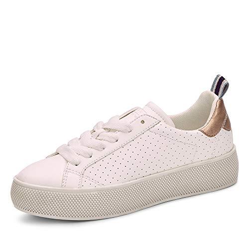 ESPRIT Damen Sneaker, Weiß