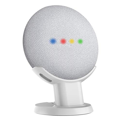 Bester der welt Gelink Desktop Holder für Google Home Mini / Nest Mini (2. Generation) (Weiß)