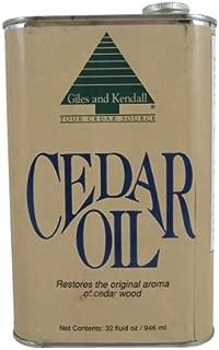 Cedar Oil 32oz 100% natural oil of aromatic Eastern Redcedar Wood