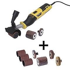 Powerplus Slijpscooter elektrische molen 300 Watt + 7-delige accessoires set*