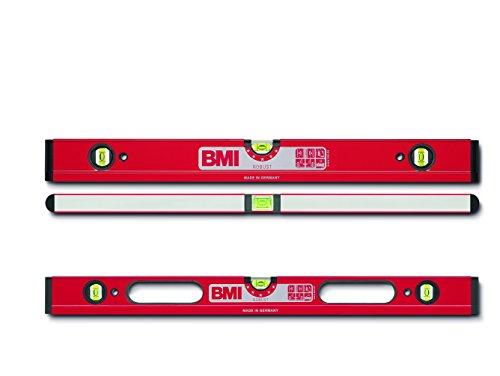 BMI 698100 Wasserwaage Robust, Länge 100 cm, pulverbeschichtet