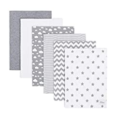 PURE COTTON BURP CLOTHS – no parent can ever have too many burp cloths as they can be used for so many things! An ideal size to pop into a handbag or changing bag and can be used all around the home as they come in super handy when feeding, changing ...
