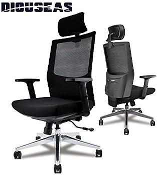 Diouseas Office Computer Desk Ergonomic Mesh Chair