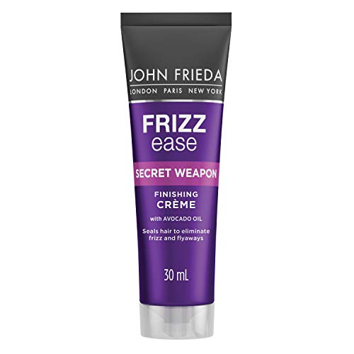 John Frieda Frizz Ease Secret Weapon Touch-Up Crème, Anti-Frizz Styling Cream, Helps to Calm and Smooth Frizz-prone Hair, 30ml
