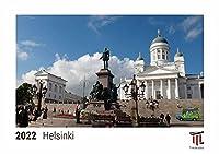 Helsinki 2022 - Timokrates Kalender, Tischkalender, Bildkalender - DIN A5 (21 x 15 cm)