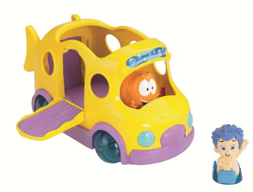 Bubble Guppies - Autocar Escolar (Mattel Y1297)