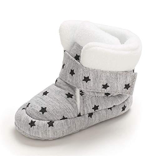 MASOCIO Stivaletti Neonato Stivali Invernali Pantofole Neonata Inverno Scarpine Scarpe Primi Passi Bambino Bimbo Stella...