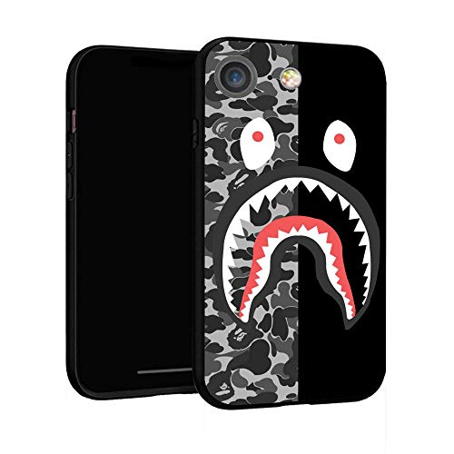 iPhone 7 Case 8 Case 4.7',Case Cover for iPhone 7/8 (Bape-Shark)