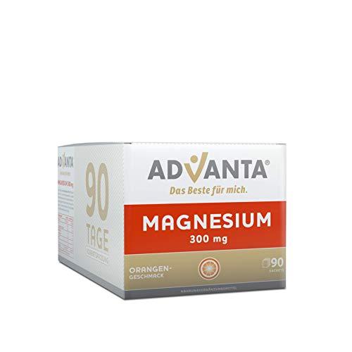 ADVANTA Magnesium 300 mg Trinkgranulat, Orangengeschmack, 90 Tage Vorratspackung
