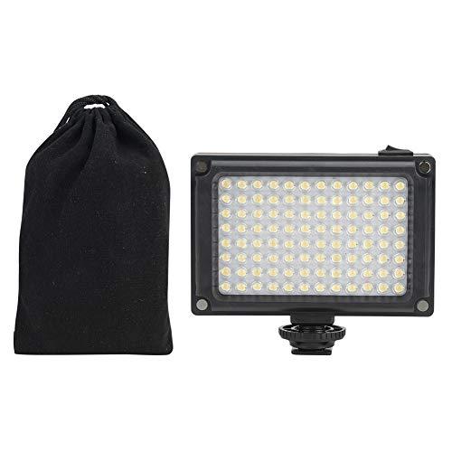 Luz de Relleno de Video Profesional en la Cámara, Mini Lámpara de luz de Relleno de Fotografía con Cámara DSLR, Iluminación de Cámara LED para Fotografía, Mejor luz de Relleno de Video para Estudio