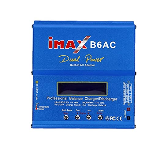 GGOOD Adaptador DC para enchufar Profesional iMAX B6AC Inteligente Compacto del Cargador del Balance/descargador de Estados Unidos T Ranuras de CA, la Fuente de alimentación