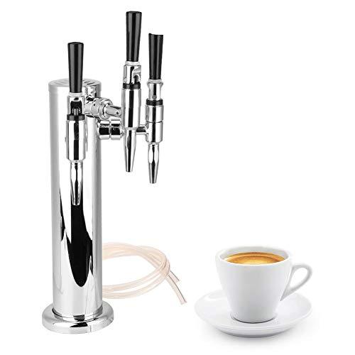 Edelstahl Kaffee Bier 3 Wasserhähne Draft Dispenser Tower Kit für Bar Home Brewing