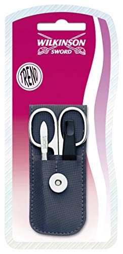 Wilkinson Sword 7000902B pinzette/Nail Scissors/Nail File Set 3 pezzi