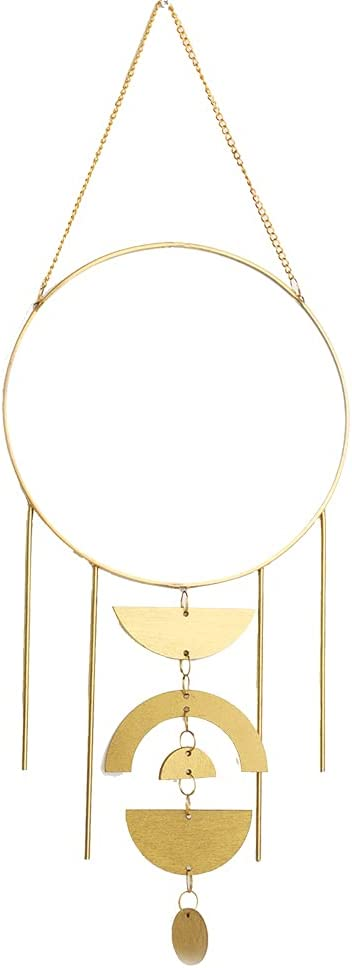 AFFOMO Nordic Round Gold Hanging Wall Wa Chain with Ranking TOP1 Small Special Campaign Mirror