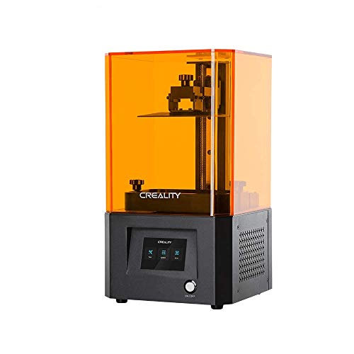 Creality LCD 3D Printer LD-002R with Air Filtering System 2K Micron-Level Accuracy and 3.5'' Smart Touch Color Screen UV Light Curing high Precision Printing
