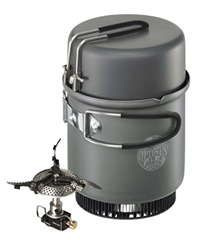 Optimus Tactical Crux Lite Kochsystem Kocher mit Topf