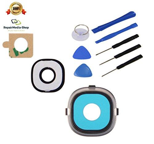 Para Samsung Galaxy S495009505Cámara Lente Cámara marco de cristal lente universal + Herramientas