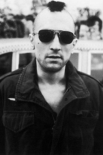 Erthstore 11x17 inch Wall Poster of Robert De NIRO in Sunglasses with Mohawk by Cab Taxi Driver