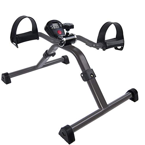 Vaunn Medical Pedal Exerciser with Display for Legs and Arms Physiotherapy