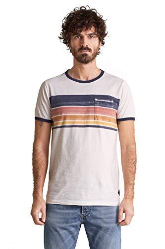 Salsa Camiseta con Rayas en el Pecho