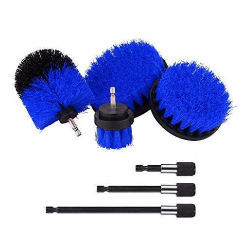 Cepillo de taladro,CHshe💜💜,Kit de cepillo eléctrico