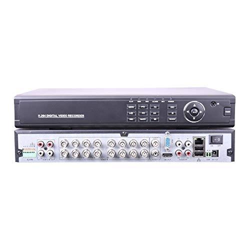 Videograbador XVR 16 camaras 1080P 5 1 entrada audio