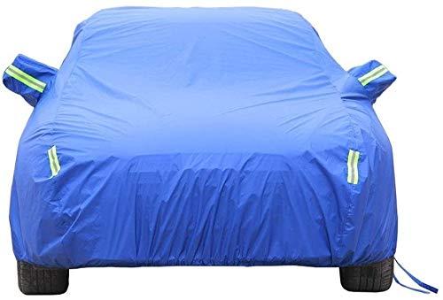 Car-Cover Kompatibel mit BMW 4er Gran Coupé Auto-Abdeckungen im Freien Sonnenschutzabdeckung Allwetter wasserdichte Anti-UV-Schutz-Auto-Auto-Plane-Staubschutzes Autoabdeckung für den Winter