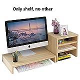 RUNWEI Laptop-Schreibtisch Fürs Bett, Computerablage, Erhöhung des Laptops, Mit Ablagefach