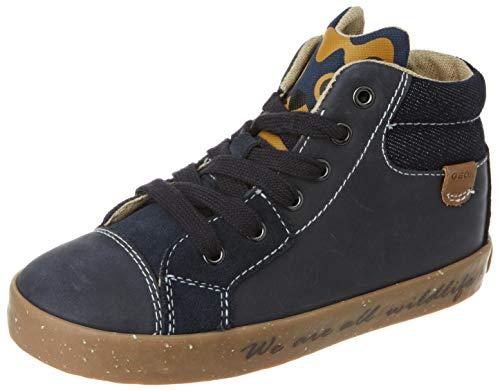 Geox Baby-Jungen B Kilwi Boy D Sneaker, (Navy), 23 EU