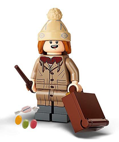Serie 2 Lego® 71028 Harry Potter™ Minifiguren Figur 10 F.red Weasley zusätzlich 1 x Sticker-und-co Fruchtmix Bonbon
