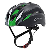 Smart4u SH20 Smart Bike Helmet,Road Cycling Helmet for Men & Women,Bluetooth Music & One-Touch Call Bycicle Helmet,Passed EN, CE, FCC, ROHS Safety Certifications (Black)