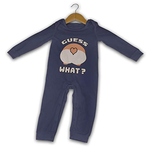 Guess What Long Comfort Baby Crawler schwarz Gr. 12 Monate, navy