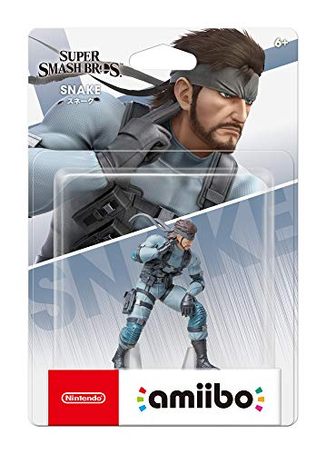 Nintendo Amiibo - Snake - Super Smash Bros. Series - Switch