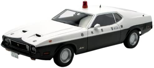 Ford Mustang Mach 1 Japanese Police Car 1:18 Autoart