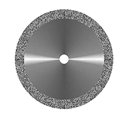 VAL-Lab D911HEF-190(355.504.190)/M Diamond Disks, Premium Quality, Super Flex, Double Sided/Mounted, Size 19 mm, Thickness 0.14 mm, 30 μm, Fine Grit
