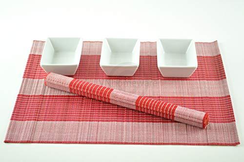 6 sets de table, sets de table fait main en bambou, Lot de 6,/, P032