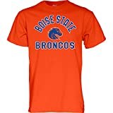 Blue 84 NCAA Boise State Broncos Mens T Shirt Line Up Secondary Color, Boise State Broncos Orange, X-Large