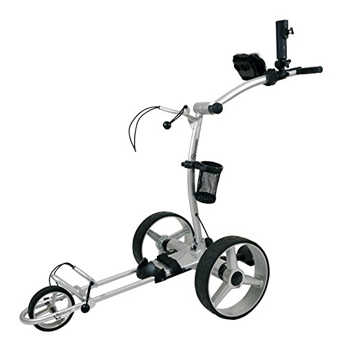 Buy NovaCaddy Remote Control Electric Golf Trolley Cart, X9RD, Silve, 12V Lead-Acid Battery