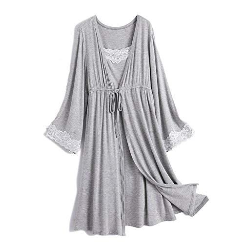 2 stks/set gedrukt moederschap verpleging nachtkleding borstvoeding nachtkleding voor zwangere vrouwen zwangerschap borstvoeding pyjama pakken