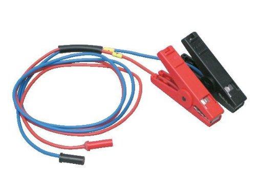Horizont Câbles de connexion pour batteries 12 V – Pince crocodile, noir