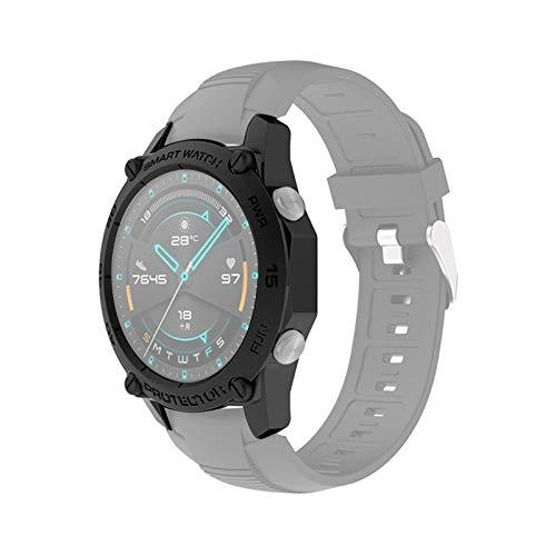 Cellphoneparts BZN Smart Watch Case per Huawei Watch GT2E 46mm Smart Watch Custodia Protettiva TPU, Colore: Nero