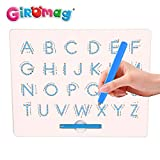 magnetic alphabet board - learning and literacy gift for preschool