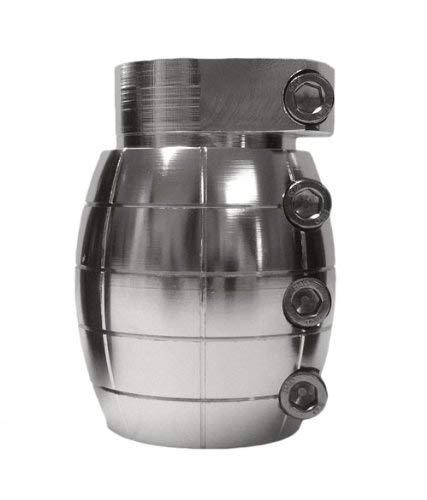 Team Dogz - Abrazadera para horquilla de monopatín (forma de granada)